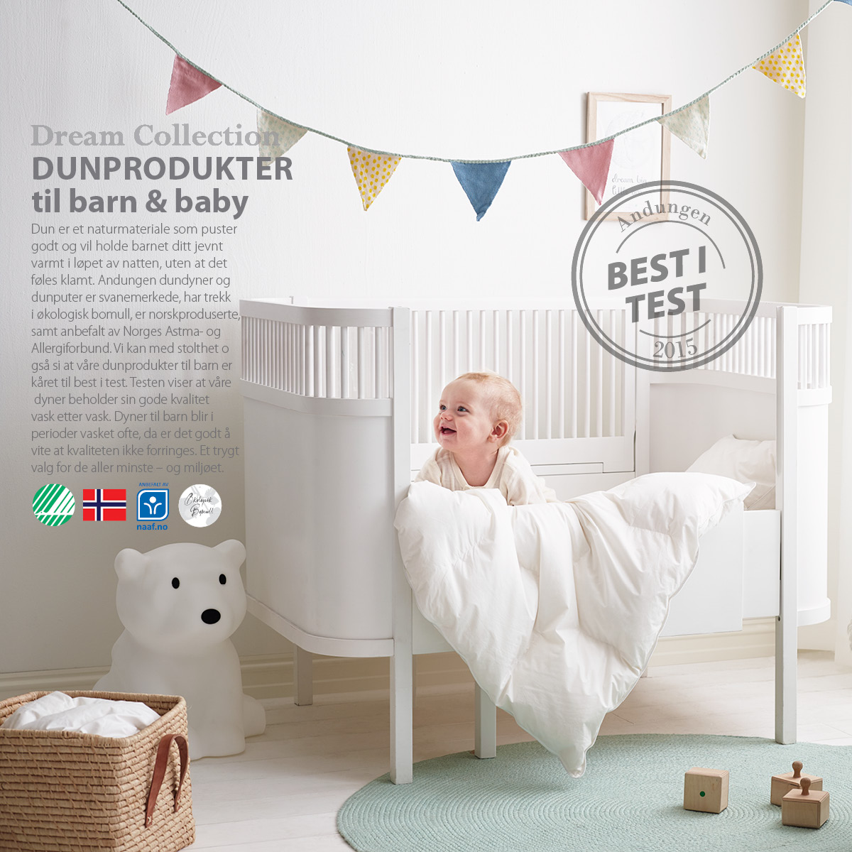 Andungen dun - best i test!