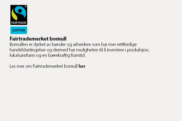 Fairtrademerket bomull